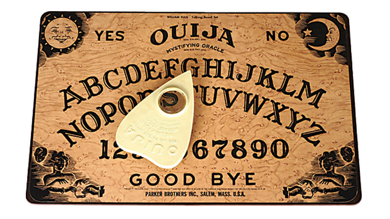 OUIJA BOARD INVENTED HERE